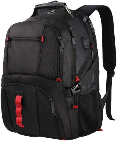 Extra Large Backpack,TSA Friendly Durable Travel Laptop Computer Backpack