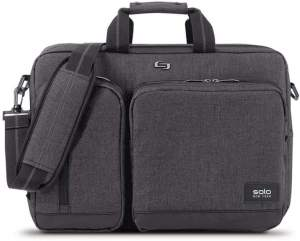 3-In-1 Briefcase and Messenger Bag