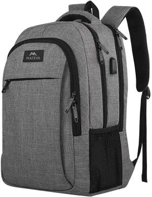Anti-theft Laptop Backpack by Matein