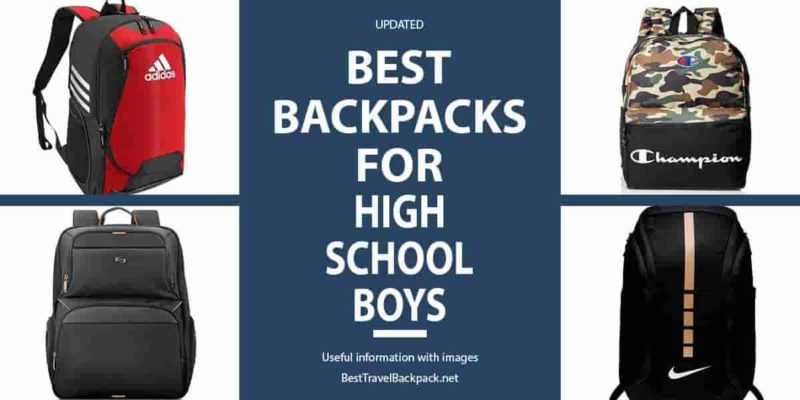 Best Backpack for Middle & High and Middle School Boys