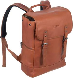Kenneth Cole Reaction Leather Flap-over Backpack