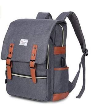 Modoker Vintage College Backpack