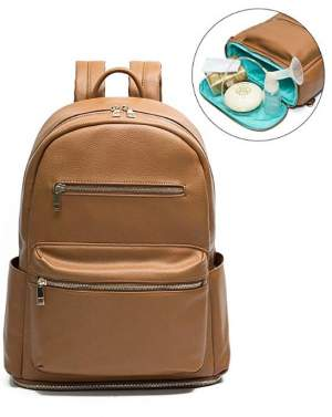 Mominside Leather Backpack
