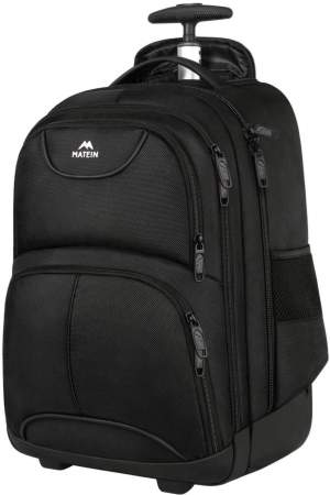 Rolling Laptop  Backpack by Matein